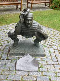 photo ops  historic figure roy campanella cooperstown ny