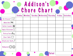 New Chore Chart For The Little Guy Good Idea 4 Year Old