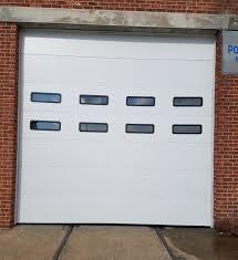 overhead sectional steel doors