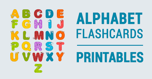 Fun Capital Letters Animal Alphabet Flashcards From A To Z
