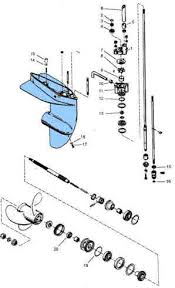 mercury outboard parts drawing 3 9 4 4 5 6 7 5 9 8 hp drawing