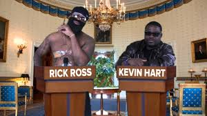 rick ross and kevin hart talk about president obama and mitt rick ross and kevin hart talk about president obama and mitt romney