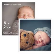 Template For Birth Announcement Hi Baby 5 X 5 Birth Announcement Card