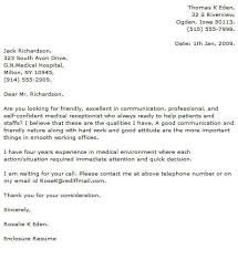 how to write an awesome cover letter medical cover letter examples cover letter now
