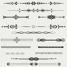Decorative Line Clip Art Horizontal Line Border Clipart Clipartfest Decorative