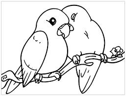 Tổng hợp các bức tranh tô màu con chim đẹp nhất cho bé - Zicxa books