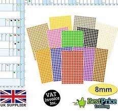 Multi Year Planner Details About Year Wall Planner Calendar Holiday Multi Coloured 8mm Dot Stickers Diary