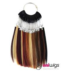 color chart human hair extension