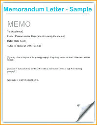 Formal Format Formal Army Memorandum Format Memo Letter Formats Example Of Within