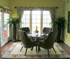 yellow sunroom decorating ideas. Terrific Home Interior Decoration Using Sunroom Paint Ideas : Simple Yet Stunning Dining Room With Yellow Decorating
