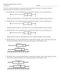Stem   Leaf   Box   Whisker Plots Worksheet for 8th Grade   Lesson furthermore Box And Whisker Plot Worksheets Wallpapercraft Equality Inequality likewise Box and Whisker Charts for Excel   dummies as well Box   Whisker plot Worksheet   Hughesalgebra1 additionally Box and Whisker Plot Worksheets in addition Box Plot Worksheets as well Making and Understanding Box and Whisker Plots Worksheets also  additionally Math Worksheets Box And Whisker Plots   worksheet ex le moreover Box and Whisker Plot   How to construct Box and Whiskers Plot besides The Math Dude   Math  Statistics and Box. on box and whisker plot worksheet