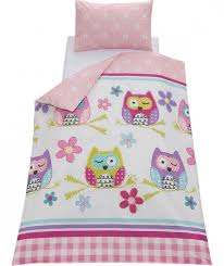 chad valley owl duvet cover set toddler at argoscouk focus for toddler owl bedding for