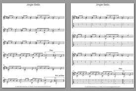 Free Classical Guitar Sheet Music Jingle Bells