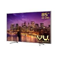 tv 85 inch. buy vu 85 in (219 cm) 4k ultra hd 3d smart led tv - tv inch