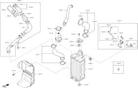Turbocharger parts diagram turbocharger intercooler for 2017 kia