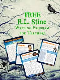 Handwriting Paper Printable Free Classy FREE Printable RL Stine Writing Program For Teachers