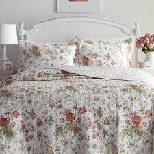 Laura Ashley Breezy Floral Quilt Set - On Sale - Free Shipping ... & Laura Ashley Breezy Floral Quilt Set Adamdwight.com