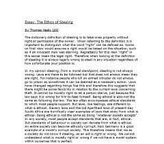 the ethics of stealing a level religious studies philosophy  document image preview
