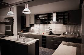 brown painted cabinets black and white countertops black kitchen cabinets ideas