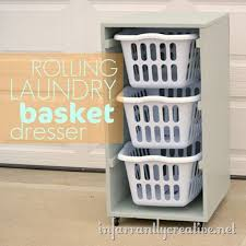 rolling laundry basket dresser brilliant diy laundry room organization ideas and tips laundry room