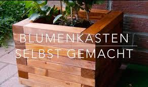 Garten Sichtschutz Blumenkasten Sch N Diy Blumenkasten Aus Holz
