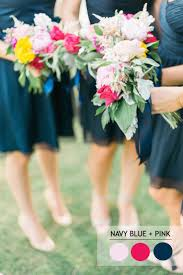 15 fabulous summer wedding color combos Wedding Colors Navy And Pink 12 fabulous summer wedding color combos navy blue pink read more wedding colors navy blue and pink