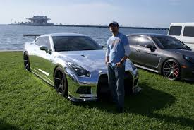 File:Nissan GTR R35 2010 Chrome Wrapped Cecilio Cintron RSideFront ...