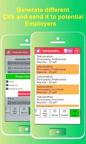 Resume Builder App Datainfo New Resume Maker App