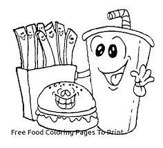 Healthy Food Coloring Food Coloring Sheets Food Coloring Sheets Free