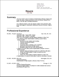 ... Ingenious Idea Resume Usa 9 Resume Templates Usa Ahoy ...