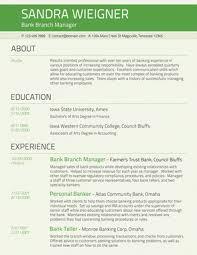Conservative Resume Baker Career Resume Design Resume