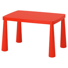 ikea mammut children s table easy to assemble you just the components together