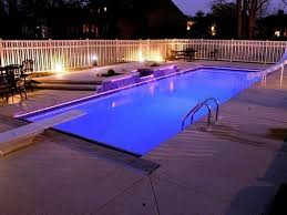Inground pools at night Cheap Inground Pools Pebble Tec Swim Spas From Bahama Spas Combines Fitness With Leisure