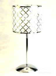 crystal chandelier table lamp black lamps chand chandelier table lamp