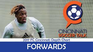 Sounders Depth Chart 2017 Fc Cincinnati Depth Chart Forwards Cincinnati Soccer