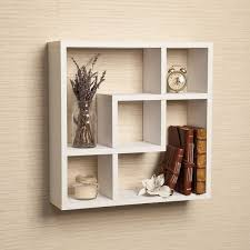 geometric shelves modern wall shelf