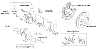 subaru 2 pot rear brake kit Subaru Impreza Parts Diagram subaru rear brake kit 2008 subaru impreza parts diagram
