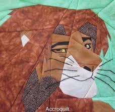 De 21 bästa Aiden's quilt-bilderna på Pinterest & Fandom In Stitches: Love the Lion King. Simba (Adult) by Michelle Thompson Adamdwight.com