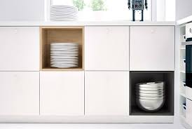 kitchen storage cabinets ikea. Wonderful Ikea Make Your Kitchen Cabinets More Interesting By Combining METOD  With Doors And TUTEMO Inside Kitchen Storage Cabinets Ikea A