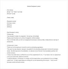How Can I Write A Resignation Letter The Radiation Safety Officer ...