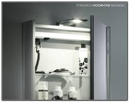 Bathroom Cabinet With Shaver Point Slimline Bathroom Mirror Cabinet With Shaver Socket Bathroom Design