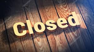 Image result for closed word