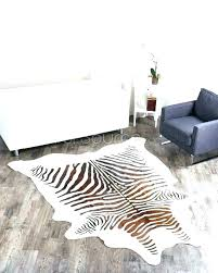 faux zebra rug s canada animal skin rugs uk fake hide australia