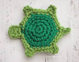 Free Crochet Turtle Pattern Unique T Is For Turtle Crochet Turtle Applique Repeat Crafter Me