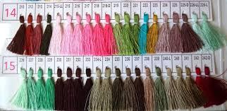 Pashmina Land Pashmina Dye Chart