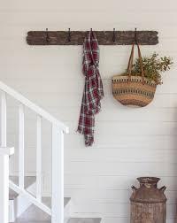 Reclaimed Wood Coat Rack Shelf Living Room Updates A DIY reclaimed wood coat rack Jenna Sue 76