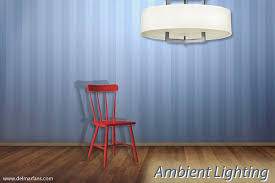 Ambient lighting fixtures Residential Ambient Lighting Over Chair In Room Del Mar Fans And Lighting Different Types Of Lighting And How To Use Them