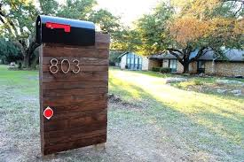 cool mailbox post ideas.  Post Unique Mailbox Post Wonderful Mailbox Unique Post Ideas Image Of  Wood To Cool