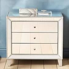 mirrorred furniture. Liza 3-Drawer 30\ Mirrorred Furniture