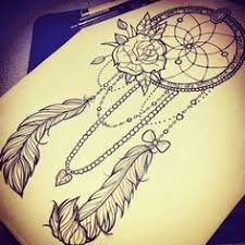 Dream Catcher Tattoo Stencils catchertattoodesigns 54